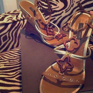 Louis Vuitton Luxury Wedge 36
